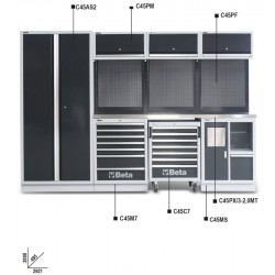 45000010 C45/X Kombi-Werkstatteinrichtung C45_19298