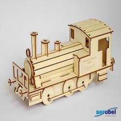 3015 Tigerli Dampflockomotive Laser Holzbausatz_236