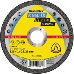 328886 K960 TX Trennscheiben Inox  gerade 125x_276