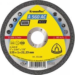 331168 Trennscheiben Inox/Stahl gerade 125x1mm_412
