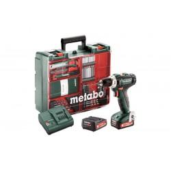 601036870 Metabo  PowerMaxx BS 12 Mobile Werkstatt 2x 2.0 Ah_50934