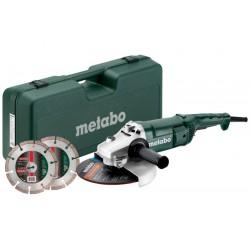 691081000 Metabo WE 2200-230 Winkelschleifer  mit 2 Diamanttrennscheiben_51471